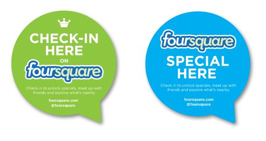foursquare stickers