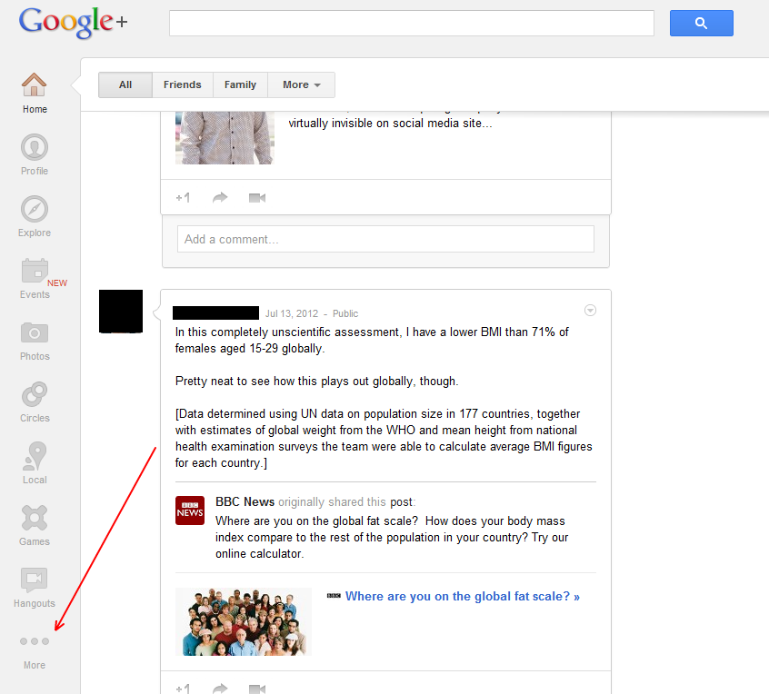 how to create new group in google plus