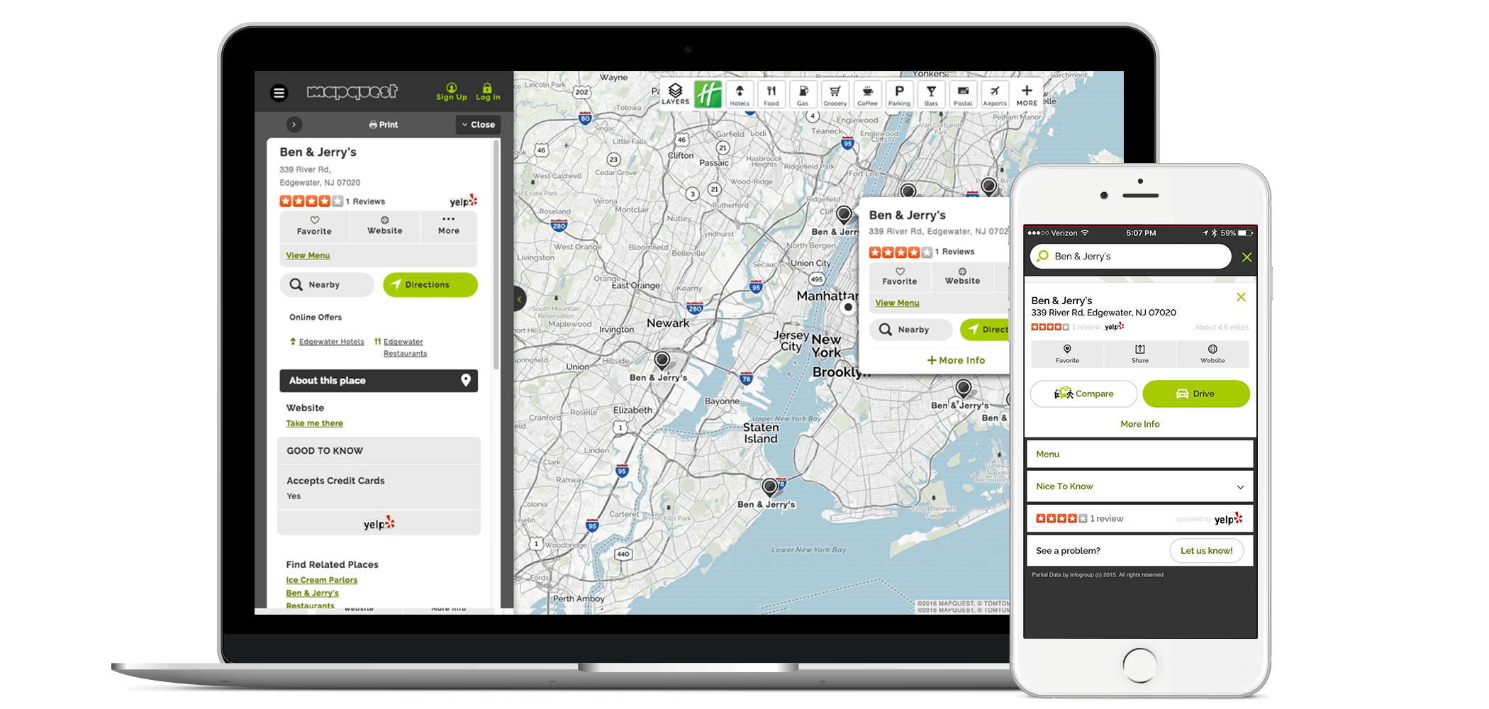 MapQuest Update Your MapQuest Business Listings Yext - Mapquest portugal