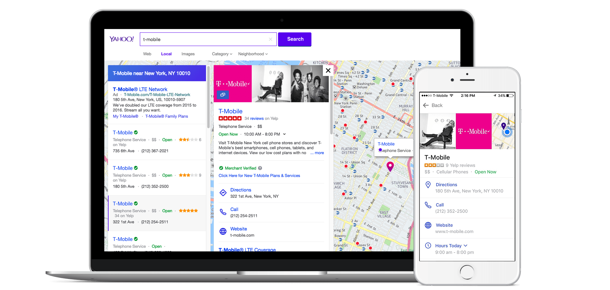 Yahoo! | Update Your Yahoo! Business Listings - Yext