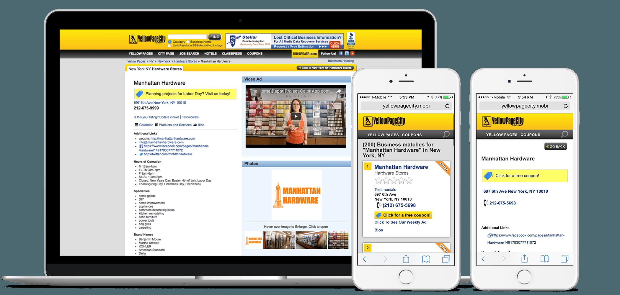YellowPageCity com | Update Your YellowPageCity Business