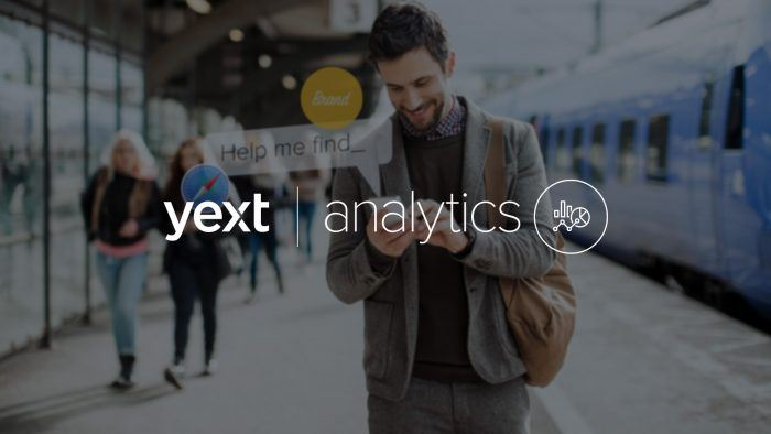 Yext Analytics for Pages