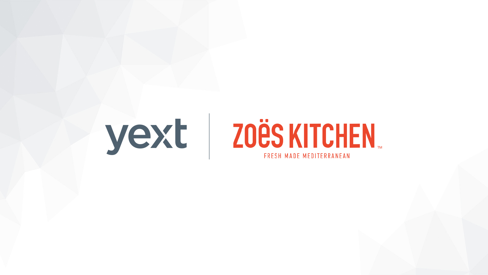 Yext and Zoës Kitchen Partner to Manage Digital Knowledge for ...