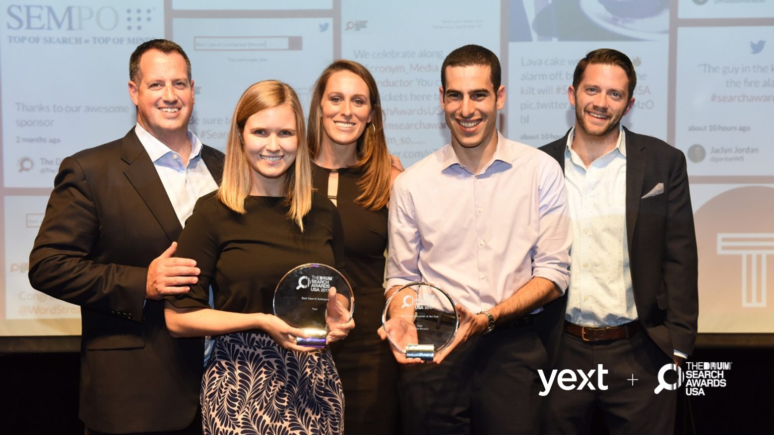 Drum Search Awards Yext