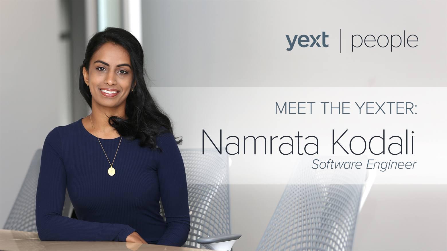 Namrata Kodali Yext