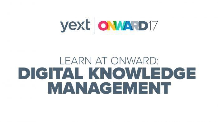 ONWARD digital knowledge management
