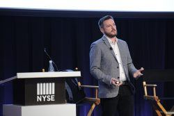 speaks onstage at the ONWARD17 Partner Summit on November 3, 2017 in New York City.