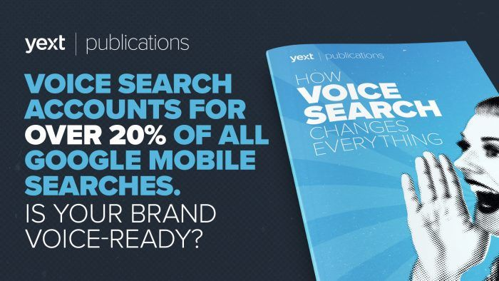 yext voice search duane forrester
