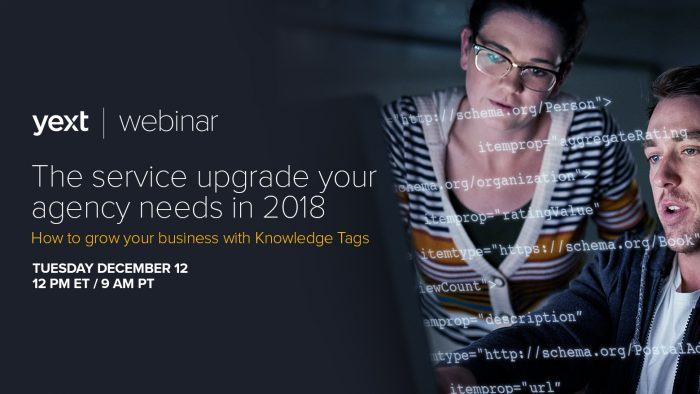 yext knowledge tags webinar