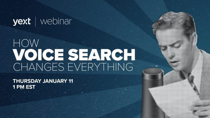 voice search webinar yext
