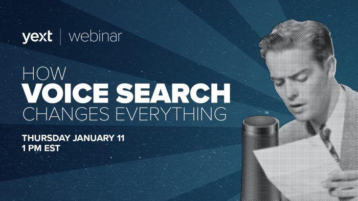 voice search webinar yext