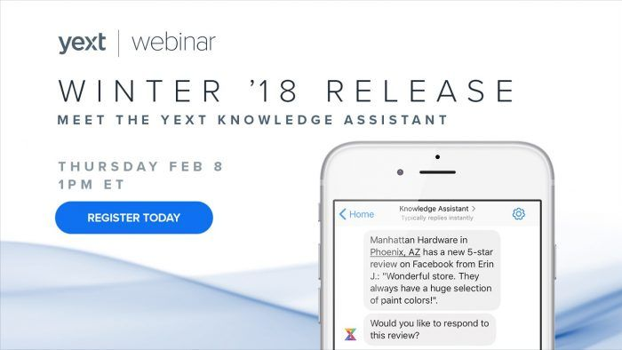 yext knowledge assistant webinar